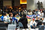 2009年末に行われたヤマハ全日本ライダー・ファン感謝祭の様子