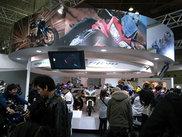 大阪モーターサイクルショーでのヤマハブース