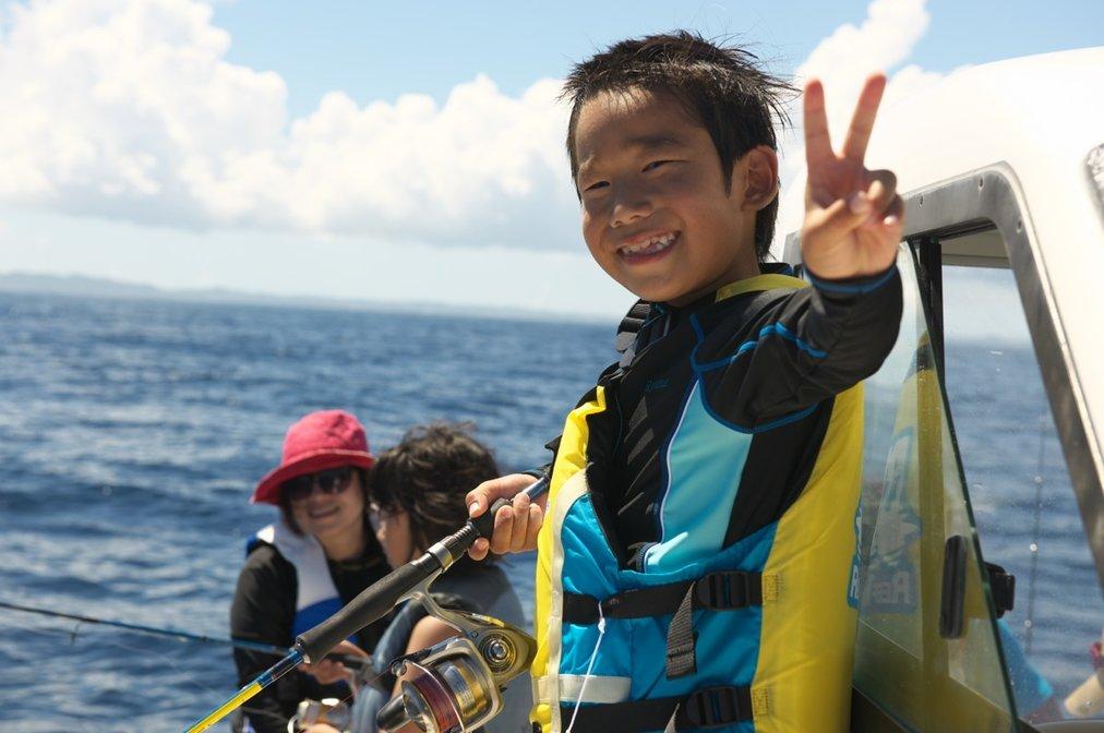 初めてのボートフィッシング