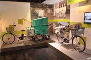 エコ&クリーンな宅配用車両として大活躍の電動アシスト自転車