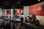 ビッグバイクコレクション展示風景