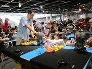 ヤマハ発動機コミュニケーションプラザの夏休み特別イベント「親子エンジン分解・組立教室」