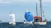 予選の第5レースでイスラエルチームを抑えてトップフィニッシュを飾った高山/高柳組(写真提供:JSAF)