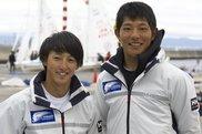 総合2位となった神木(左)・疋田(右)組