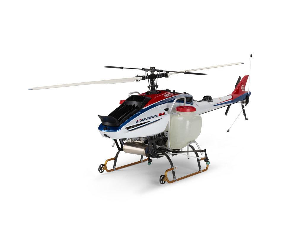 新型産業用無人ヘリ「FAZER R」