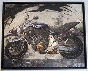 「MT-07」の日本画家(日展入選作品)