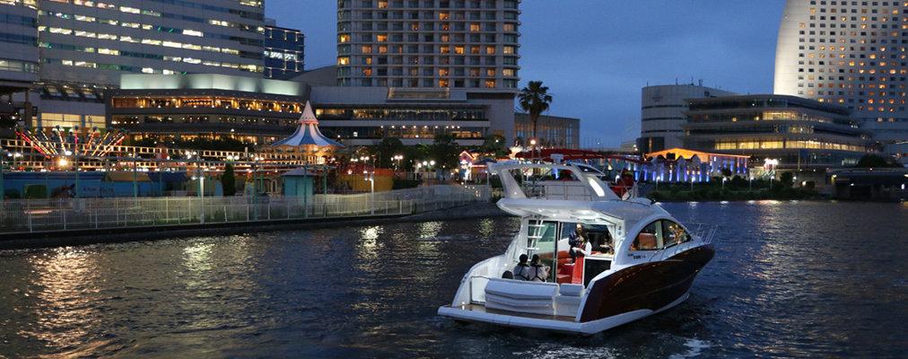 【Sea-Style Premium】横浜の花火を洋上で観覧できるプライベートチャータークルーズ