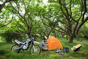キャンプツーリング イメージ