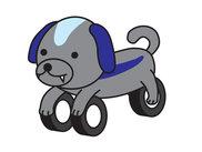 いとうみつる氏デザインのナイ犬